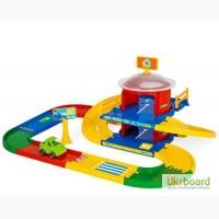 Игровой набор Гараж 2 уровня Wader 53020