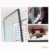 Ремонт окон и дверей ПВХ. Замена стеклопакетов
