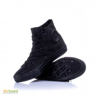 Кеды Converse черные(монохром) высокие и низкие