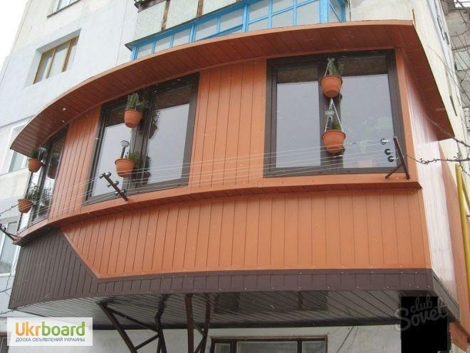 Фото 5. Профнастил для балкона, метлопрофиль продам