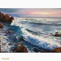 Картина маслом Жемчужный рассвет над морем от Ивана Чернова