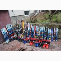 Горные лыжи, беговые и детские, сноуборды бу