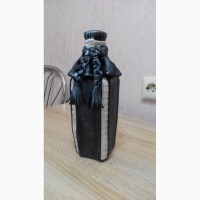 Продаю декоративные бутылочки из натуральной кожи
