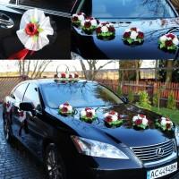 Продам украшение машины арт.1 на свадьбу
