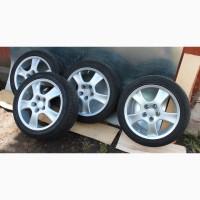 Немецкие эксклюзивные диски RONAL R17 с резиной Michelin PILOT PRIMACY 5x114, 3 mazda и др