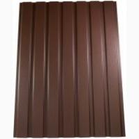 Продам профнастил в коричневом цвете, ПС-15 RAL 8017 0, 45 матовый ДЕШЁВАЯ АКЦИЯ