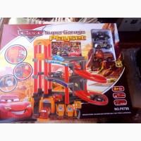 Super Garage Playset P0799 трехуровневый паркинг, парковка