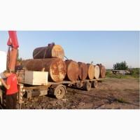 Ёмкости металлические б/у резервуар металлический от 1 до 100 кубов для любых нужд