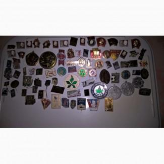 Значки коллекция ссср
