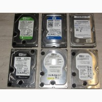 Жесткий диск для ПК 500Gb 1000Gb 1Tb WD 3.5 SATA - РАБОЧИЕ - Недорого