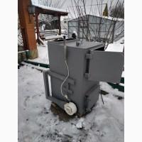 Котел твердотопливный пиролизный газо-генераторный длительного горения