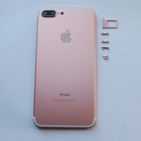Корпус (крышка) iPhone 7 Plus Jet Black/Black/Silver/Gold/Rose/Red