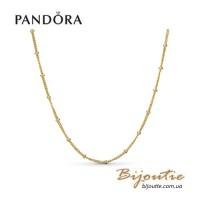 PANDORA колье ― Бусины SHINE 367210-70