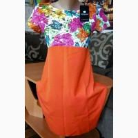 Продам новое платье р. 42/44 ( оранж )