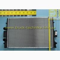 Радиатор системы охлаждения двигателя Iveco Daily, Fiat Marea