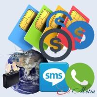 Стартовые пакеты Yolka для Европы продажа в Украине 3G и 4G