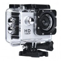 Водонепроницаемая спортивная экшн камера SJ4000 A7, серебристая