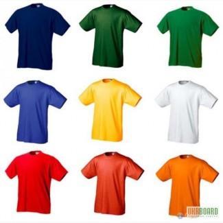 Футболки оптом однотонные футболки