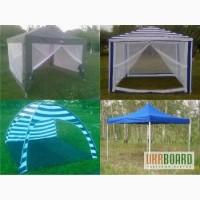Раздвижной экспресс шатер, павильон с москитной, палатка туристическая, тент.
