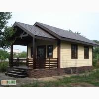 Дачный домик, домик для турбазы, сезонный домик, дом-бытовка, каркасный дом.