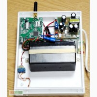 GSM модуль контролирует температуру компьютерных серверов.