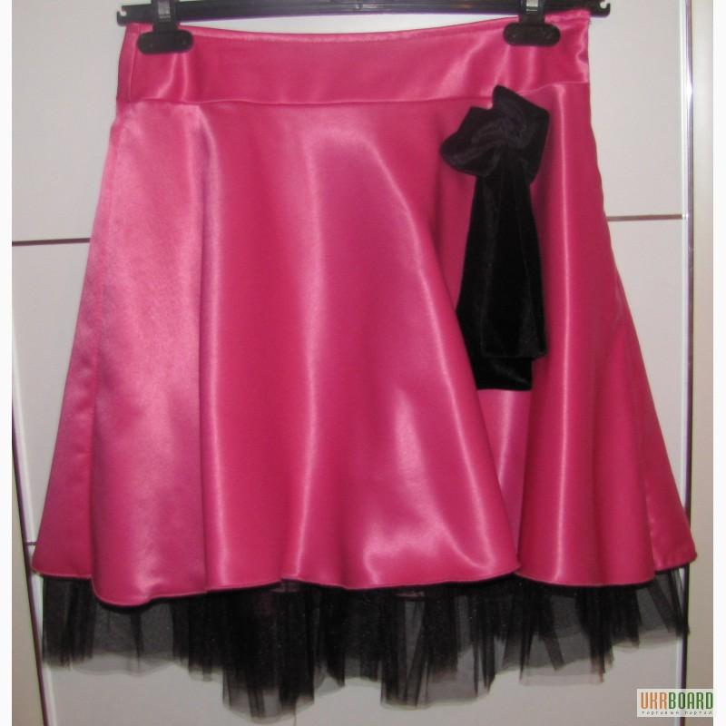 атласная юбка в пол