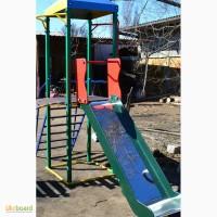 Комплекс Башенка с горкой, спортивно-игровой для детей. садовый