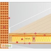 Звукоизоляция межэтажного перекрытия Tecsound FT75