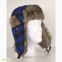 Шапка ушанка Rothco Plaid Fur Flyers Hat Акция