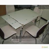 Недорогие модели качественных стеклянных столов