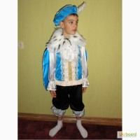 Прокат костюма Принца/Зимнего месяца на мальчика 6-9 лет