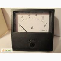 Амперметр постоянного тока 10А(с шунтом)