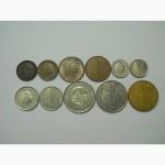 Монеты Нидерландов (11 штук)