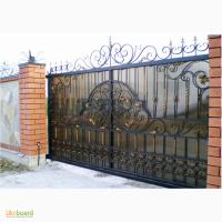 Металлоизделия, ковка Херсон: кованные ворота, калитки, навесы, заборы, козырьки, лесницы