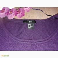 Фирменный свитер hm большого размера