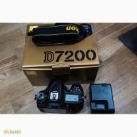 Nikon D D7200 24.2MP Цифровые зеркальные фотокамеры - черный (только корпус)