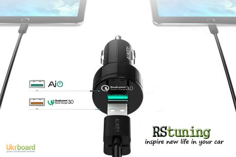 Зарядное устройство Aukey PA-U33 Black