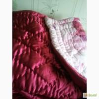 Одеяло пуховое красное новое