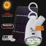 Светодиодная лампа на солнечной панели GD-5005