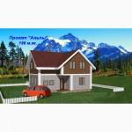 Проекты каркасных канадских домов из сип панелей от застройщика
