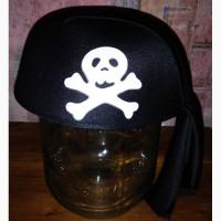 Костюмированная шапка пирата