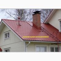 Крыша из металлочерепицы с доставкой, бесплатной порезкой, погрузкой, упоковкой