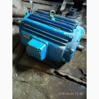 Продам 3х фазный 380в 100квт электродвигатель БУ