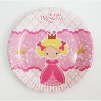 Набор тематической одноразовый посуды Маленькая принцесса