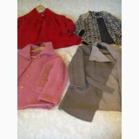 4 женских демисезонных пальто б/у