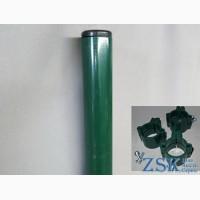 Столб 2.0м Ø45мм крепления в комплекте