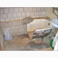 Утилизация чугунных ванн в Киеве