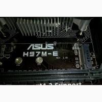 Asus H97M-E s1150, Intel H97, PCI-Ex16