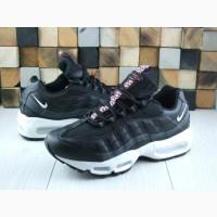 Черные демисезонные кроссовки Nike Air Max 95 41-46р ТОП КАЧЕСТВО