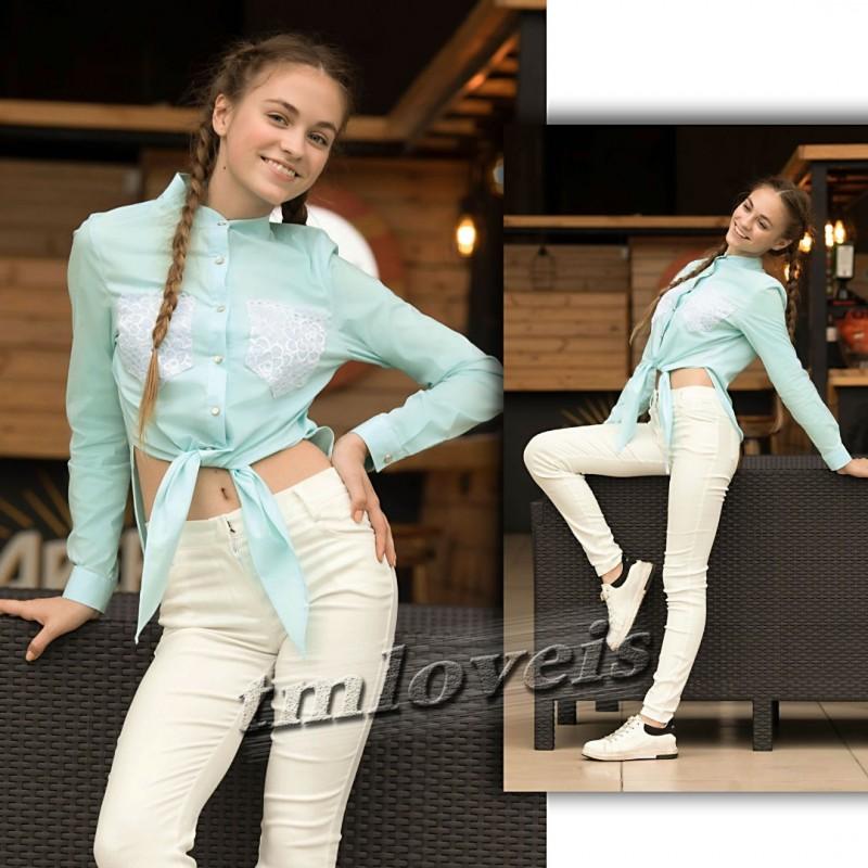 Фото 6. Ультрамодные топовые блузка и рубашка для девочки. 7-16лет. Блузочка